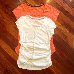 Bundle of two maternity T-shirts